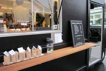 Coffee shops / Love Coffee shops, enjoying their design and coffee specialties