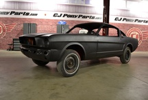 Forgotten Fastback / CJ's 1965 Mustang fastback project car / by CJ Pony Parts