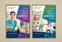 Our Work - City University - Marketing campaign / Acumen Design develop marketing strategy to hold on to students
