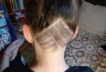Extrem hairstyle