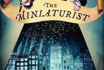 The Minaturist / Pins relating to novel The Minaturist by author Jessie Burton