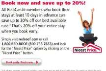 Save with Red Roof Inn! / by Red Roof Inn