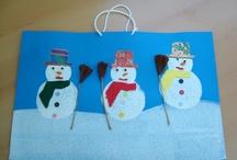 Askartelu, Talvi, lumiukko