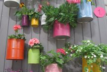 Pots for Fence