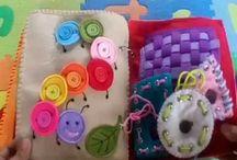 książeczki/zabawki sensoryczne
