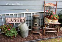 vintage rustic garden