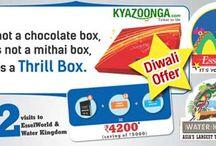 KyaZoonga.com: Register online for EsselWorld Diwali Thrill Box