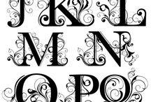 Alfabeto monograma