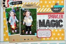 Simple Stories Layouts / by Erin Swank