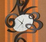 OROLOGI DECORATIVI / Orologi da parete con design originali.