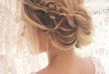 messy bun wedding