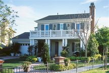 James Hardie's Colonial Style Houses / Colonial style homes featuring James Hardie products http://www.jameshardie.com/homeowner/colorplus-palette.shtml