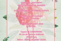 Soirée de lancement La vie en Pink Wedding & Caroll' Event's avec Mme Pink / Soirée de lancement des agences : La vie en Pink Wedding & Caroll' Events avec Mme Pink