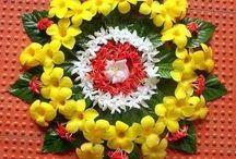 India - Diwali - Rangoli / Indie, najpiękniejsze wspomnienia i tęsknota
