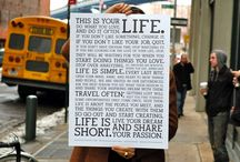 Live life... / by Megan Bellwood