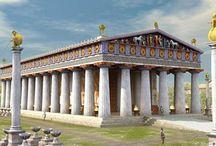 Santuarios, Templos Grecia