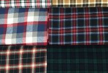 Flannel / Flannel is a soft woven fabric, of various fineness. The brushing process is a mechanical process where a fine metal brush rubs the fabric to create fine fibers from the loosely spun yarns. Double-napped flannel refers to a fabric that has been brushed on both sides. Flannel is commonly used to make tartan clothing, blankets, bed sheets, and sleepwear.