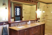 Main Bathroom Makeover / by Erin S at Woof Tweet Waah