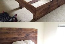 Fabrication tête et base lit
