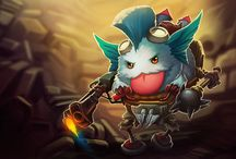 Poro Champions! / Poros as League of Legends Champions