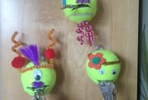 Tennis Crafts