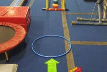 Preschool Gymnastics / Gymnastics warm-up ideas, theme weeks, games, drills and Gymnastics activity for gymnasts five years and under