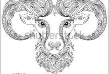 Aries ram tattoos