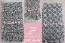 Indian block print textile