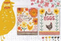 Steph Calvert/Textiles / Illustration/Design for License & Hire