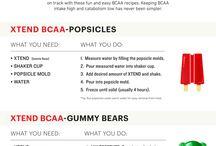 BCAA och Proteinpulver