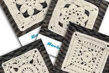 Granny Squares • Kostenlose Häkelanleitungen / Granny Squares häkeln. Kostenlose Häkelanleitungen & Ideen ❣☺ Häkeln. Anleitungen . Häkelanleitungen, Filethäkeln. Topflappen, Gardinen, Decken. Granny Squares. #häkeln #haekeln #häkelanleitungen #umsonst #gratis #kostenlos #diy #crochet #crochetpattern
