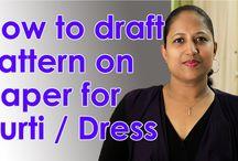 how to stitch kurti video