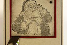 Santa's list stamps