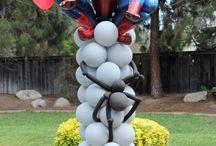 palloncini poersonaggi supereroi spiderman