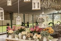 A Shabby Chic Wedding / Vintage, shabby-chic and farmyard elements with a touch of romance for good measure!
