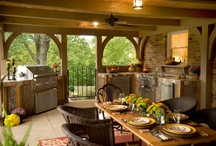 Outdoor Living / It's that time of year again, time to get out and enjoy the springtime weather. Whether its barbecues, picnics, or just a cool drink and a book on the porch. Natural Element Homes can help you create the perfect outdoor space.  / by Natural Element Homes