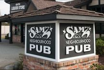 Samz Neighbourhood Pub Langley/Surrey / Celebrating 16 years this year in 2004, we're right on the Surrey/Langley border on 56th Avenue.  A great langley and surrey pub and liquor store, we've been a regional favorite for many years.