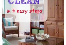 Cleaning Made Easy / Everybody hates household chores. Make it easier for yourself by keeping on top of them with these handy charts, planners, checklists and printables. There are also tips on how to clean.
