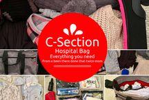 Tasche für c-section