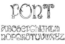 Fonts / by Rose Curtis