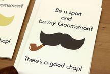 Be My Groomsman: Vintage Style
