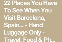 22 places to visit in Barcelona