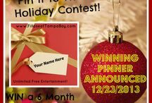 Pinterest Contests / by iPartyinVegas