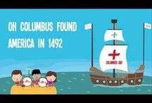 Kindergarten Christopher Columbus Day...