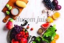 Homemade Hurom Juice / Good Health Starts Here With Hurom Juice