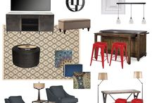 eDECORATING Mood Boards / eDECORATING is a budget-friendly package for the DIYer! Every home can be beautiful, regardless of size, style or budget
