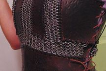 chainmail leather armor ideas
