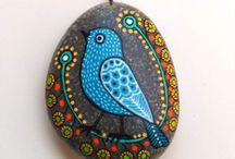 Tekenen op steen