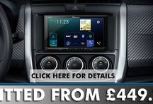 Stereo with Installation / Install a double din screen headunit in your vehicle at the very best prices in UK.