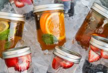 Beverages in Mason Jars! / What's more fun than a beverage in a mason jar?  Fun summer drinks!